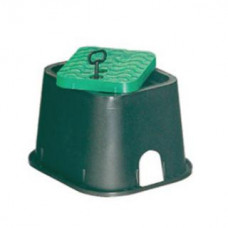 Колодец инспекционный (короб с люком) 21 х 24 х 17 см с ключом