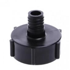Переходник для еврокуба 60 мм, выход с ершом 22,5 мм