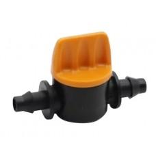 Кран для микротрубок 6 мм