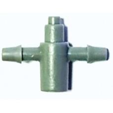 Разветвитель для капельниц на 2 микротрубки (Dn6)