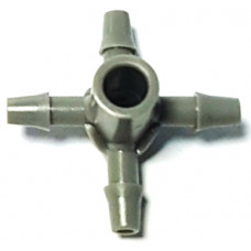 Разветвитель для капельниц на 4 микротрубки (Dn6)
