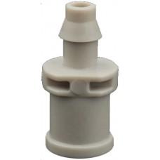 Стартовый переходник для миниспринклеров и туманообразователей (Dn7f), белый