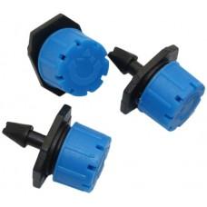 Регулируемая капельница 0-70 л/ч, синяя