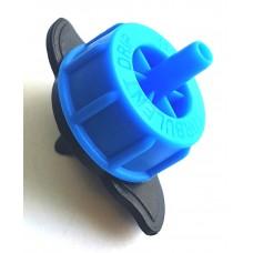 Некомпенсированная капельница 2 л/ч разборная TOD0102, синяя