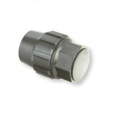 Заглушка 25 мм компрессионная для труб ПНД