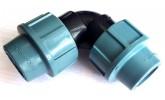 Компрессионные фитинги для труб ПНД 40 мм
