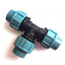 Тройник для труб ПНД 25 мм