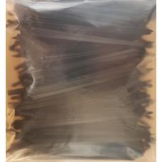 Капельница-колышек 15 см, 1,2 л/ч, чёрный, упаковка 100 шт.