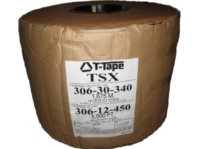 Капельная лента T-TAPE серии 306 (стандарт 9,5 мм), фитинги
