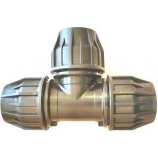 Тройник для труб ПНД 50 мм