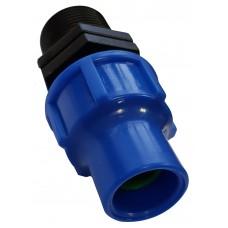 """Фитинг 3/4""""НР компрессионный для капельной трубки 16 мм, Senkron"""