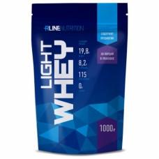 Протеин сывороточный LIGHT WHEY, упаковка 1000 г, вкус клубника