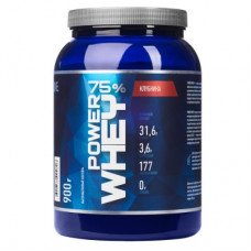 Протеин сывороточный  POWER WHEY,  банка 900 г, вкус малина