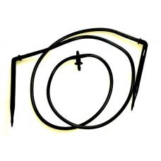 Капельница-медуза с адаптером, 2 направления, поводки 50 см