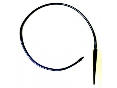 Капельница пика-спираль с поводком 60 см и старт-коннектором