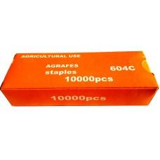 Скрепки для подвязчика GT-010, упаковка 10000 шт.
