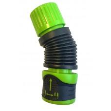 Коннектор гибкий для шланга 1/2-5/8 дюйма, AquaSTOP