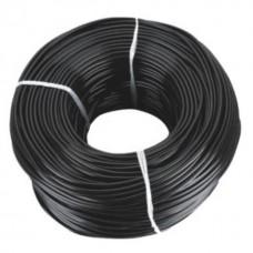 Микротрубка ПВХ 7х4 мм, чёрная