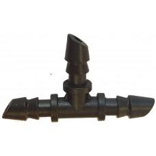 Тройник для микротрубок 4,5 мм